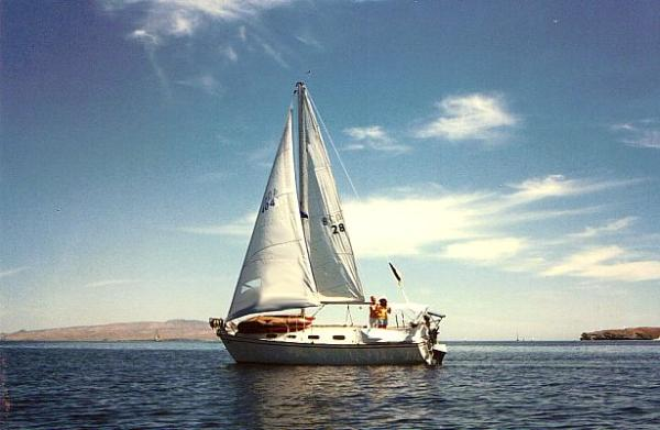 Sailing The Sea Of Cortez Mexico Sailboat Charter In La Paz